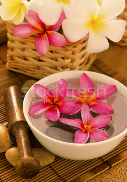 Tropical spa retreat Stock photo © szefei