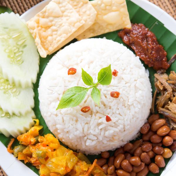 Asian rice Stock photo © szefei