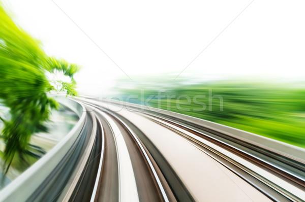 Sky Train Stock photo © szefei