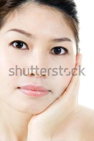 Beauté soins isolé portrait asian Photo stock © szefei
