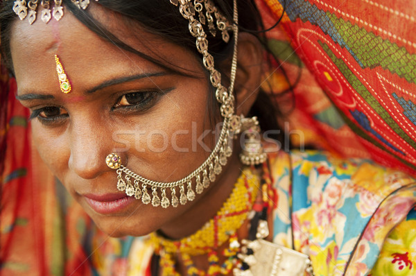 Beautiful Indian Stock photo © szefei