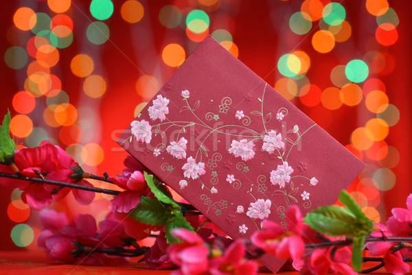 Chinese new year ang pow  Stock photo © szefei