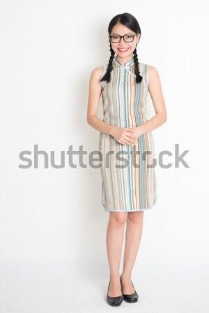 Asian girl portrait Stock photo © szefei
