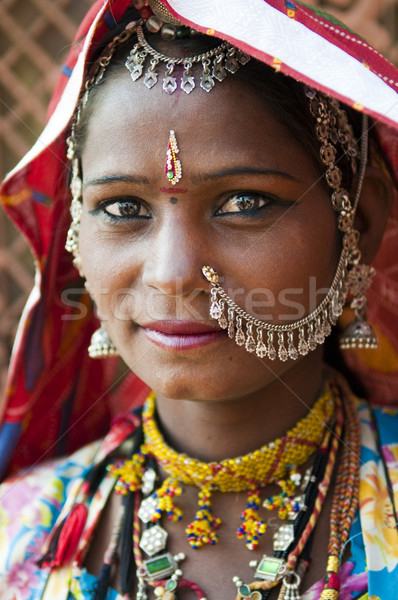 Indian woman Stock photo © szefei