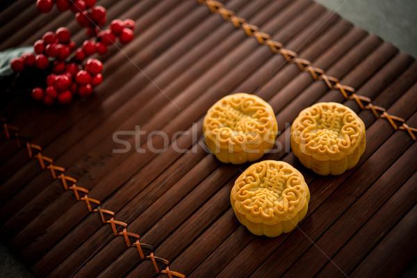 竹 低い 光 伝統的に ペストリー 祭り ストックフォト © szefei
