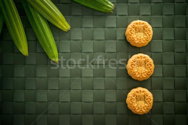 Traditional Mid-Autumn Festival Mooncakes  Stock photo © szefei