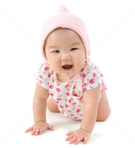 Baby girl Stock photo © szefei