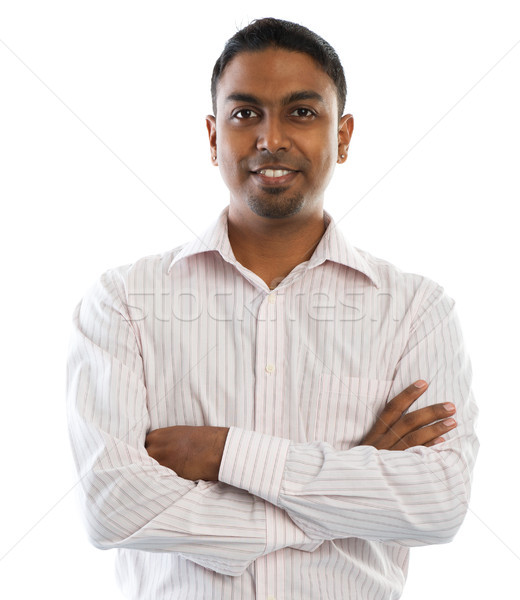 Indian man. Stock photo © szefei