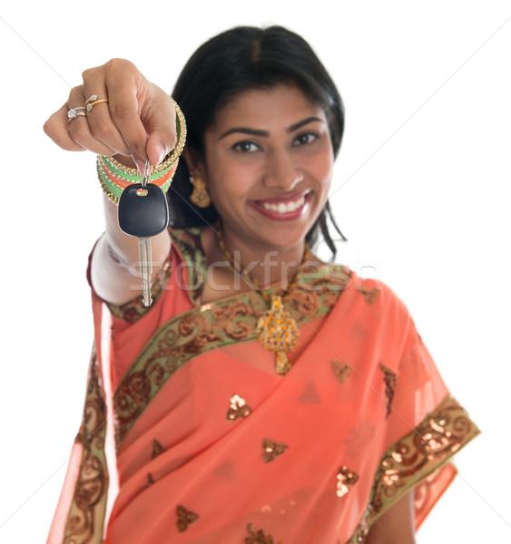Première propre séduisant traditionnel indian Photo stock © szefei