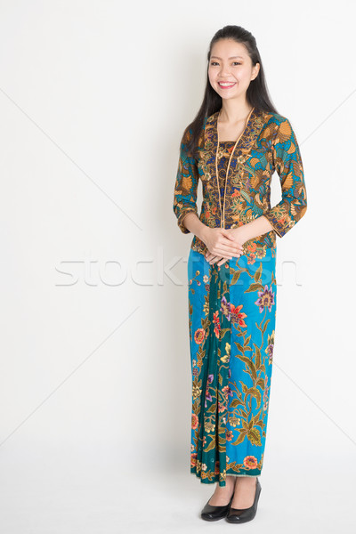 Southeast Asian girl  Stock photo © szefei