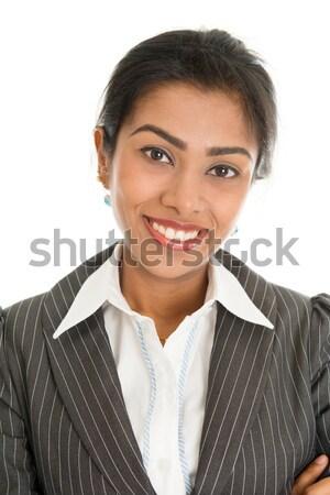 Black businesswoman  Stock photo © szefei