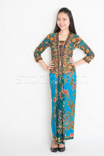 Asian woman portrait Stock photo © szefei