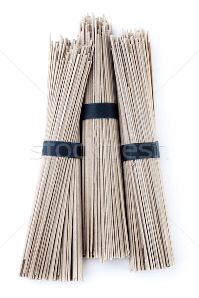 Raw Soba Noodles Stock photo © szefei