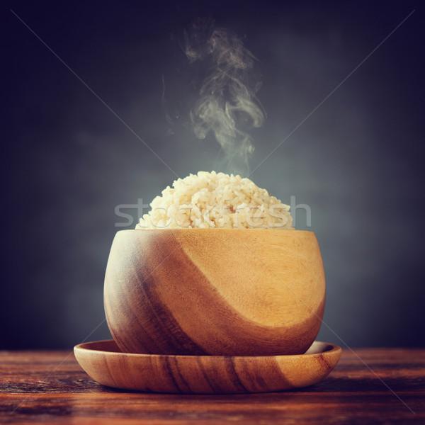 Basmati brown rice Stock photo © szefei