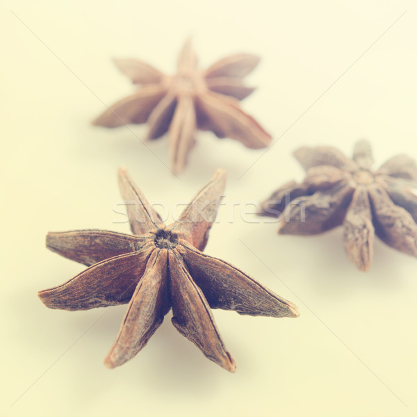 Anise stars Stock photo © szefei