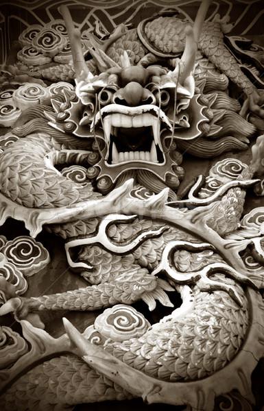 Dragon Statue. Stock photo © szefei
