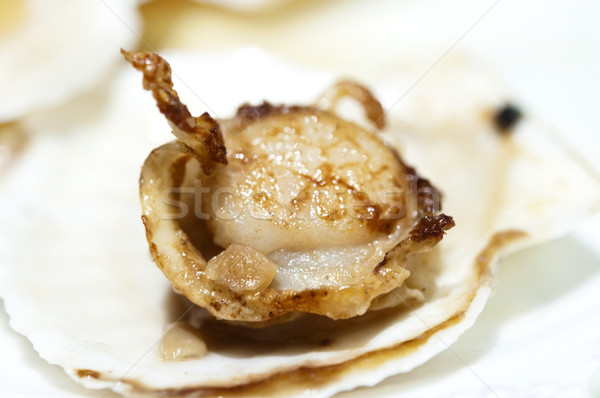 Baked Scallop Stock photo © szefei