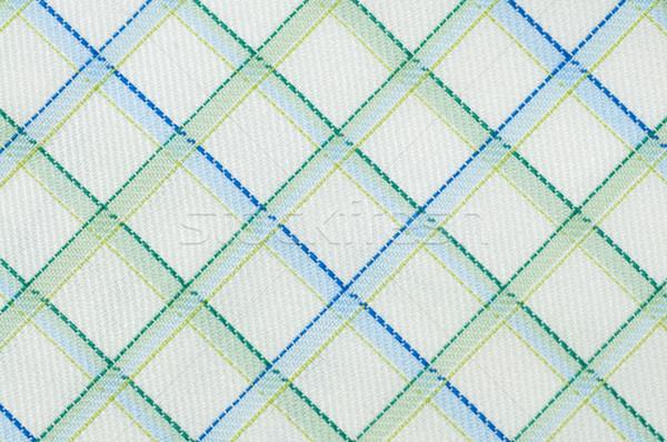 Checked cloth pattern close up Stock photo © szefei