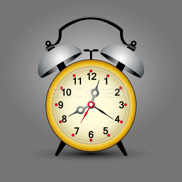 yellow clock Stock photo © szsz