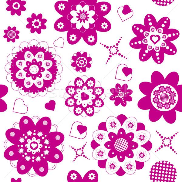 flower seamless Stock photo © szsz