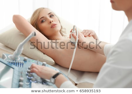Young woman topless Stock photo © stryjek