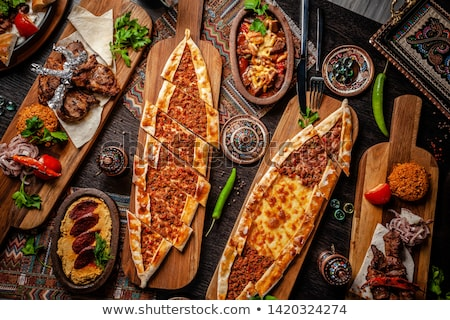 Traditional turkish meal Stock photo © fotografci