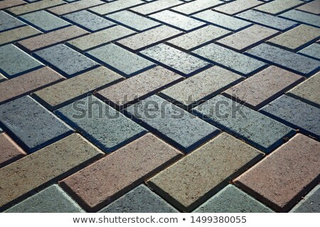 pavement tiles in different colors and shapes                    Stock photo © Melvin07