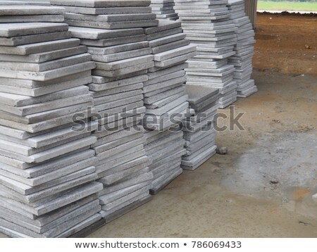 trottoir · tegels · trottoir · bouw · werk - stockfoto © Melvin07