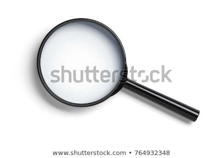 black magnifier Stock photo © cidepix