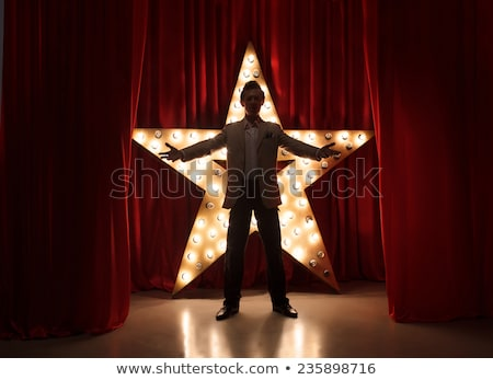 Live theater star Stock photo © sahua