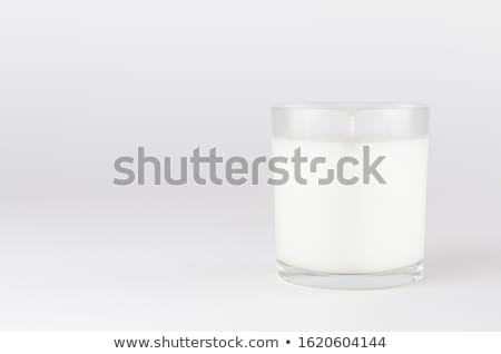 Stock photo: white candle