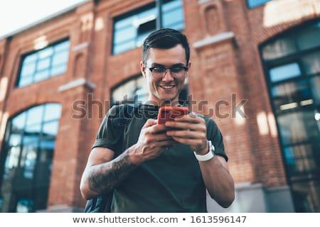 Outdoor vent portret toevallig gespierd Stockfoto © curaphotography