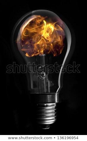 огня внутри стороны бизнеса Сток-фото © aelice