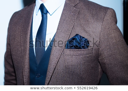 klasik · iş · ceket · yalıtılmış · boş · mavi - stok fotoğraf © zakaz