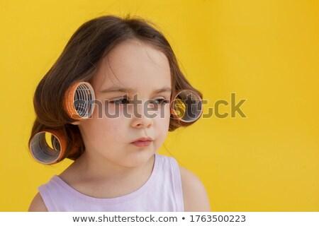 Hair curlers #4 | Isolated Stock photo © zakaz