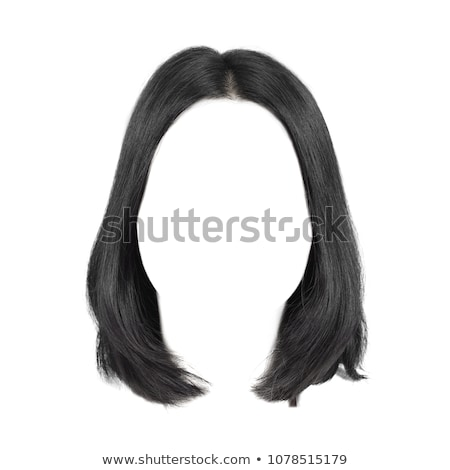 парик · изолированный · женщины · долго · белый · цвета - Сток-фото © zakaz