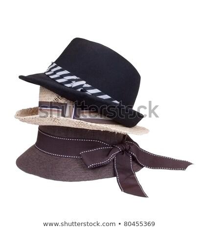 Stack of hats | Isolated stock photo © zakaz