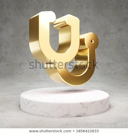 estetoscópio · ouro · reflexão · preto · prata · superfície - foto stock © markross