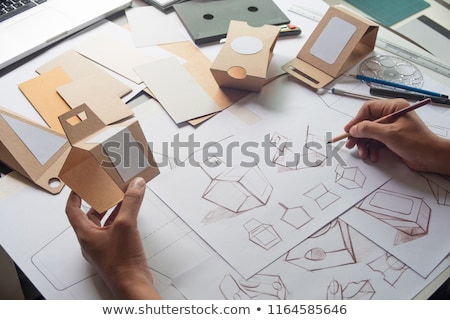 Paper Package With Products Stock photo © adamson