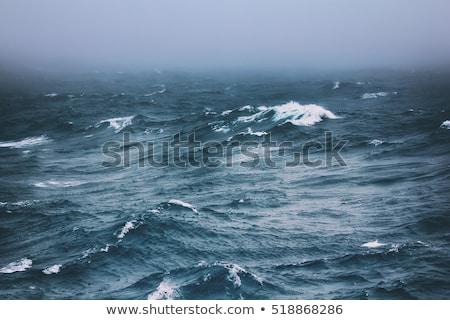 poles to break the waves stock photo © ivonnewierink