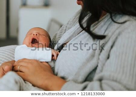 Bebê doce cor rosa padrão recém-nascido Foto stock © Galyna