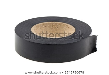 Roll of insulating tape isolated Stock photo © Givaga