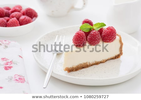 sweet berry pie on white plate Stock photo © mahout