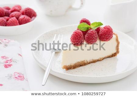 appel · bessen · room · witte · achtergrond · aardbei - stockfoto © mahout