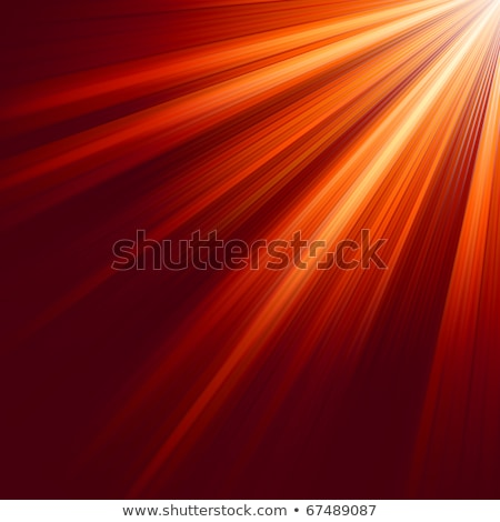 Red luminous rays. EPS 8 Stock photo © beholdereye