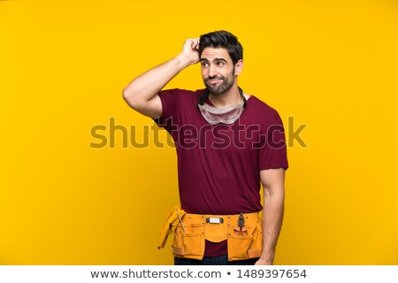 young craftsman thinking stock photo © photography33