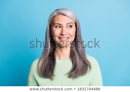 Grey-haired lady Stock photo © photography33