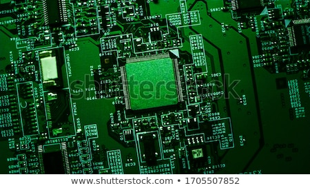 CPU on motherboard Stock photo © IngaNielsen