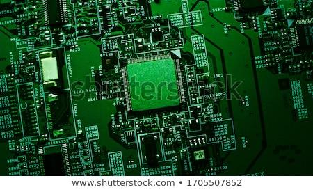 processzor · foglalat · számítógép · alaplap · technológia · háttér - stock fotó © inganielsen