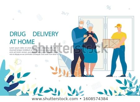 Cartoon · медицинской · таблетки · версия - Сток-фото © rastudio